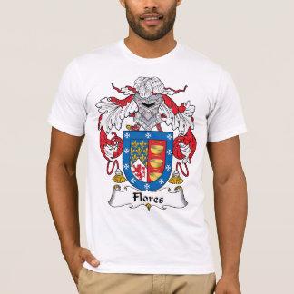 Flores Family Crest T-Shirt