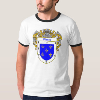 Flores Family Crest Tee Shirt