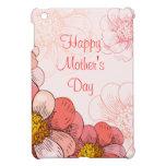 Flores felices del rosa del día de madre
