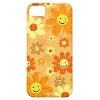 Flores felices iPhone 5 Case-Mate carcasas