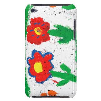 Flores felices iPod Case-Mate funda