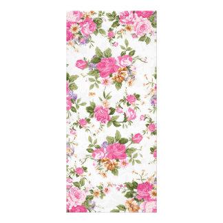 Flores femeninas elegantes hermosas de los rosas d tarjeta publicitaria personalizada