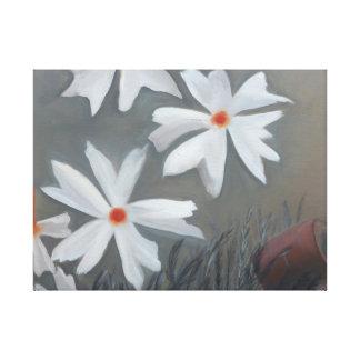 ¡Flores festivas! Impresión En Lienzo Estirada