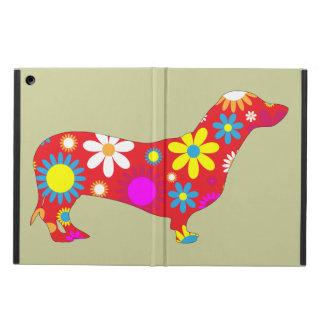 Flores florales retras enrrolladas del perro del