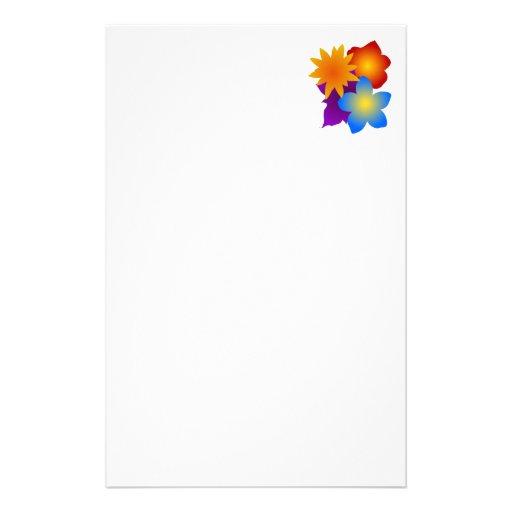 Flores flores blooms flowers papeleria personalizada