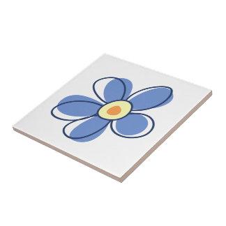 Flores, flores, floraciones, pétalos - amarillo teja cerámica