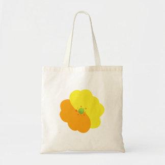 Flores, flores, floraciones, pétalos - amarillo bolsa