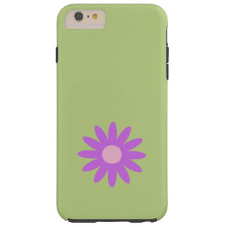 Flores, flores, floraciones, pétalos - púrpura funda de iPhone 6 plus tough