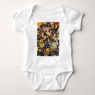 Flores flotantes body para bebé