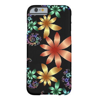 Flores flotantes funda para iPhone 6 barely there