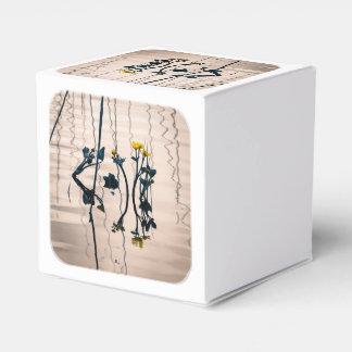 flores Fractura-entonadas del kingcup Cajas Para Regalos De Boda