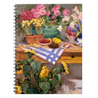 Flores frescas I Libros De Apuntes
