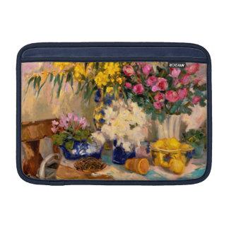 Flores frescas II Funda MacBook