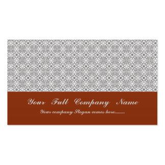 Flores grises majestuosas en fondo blanco áspero plantillas de tarjetas de visita