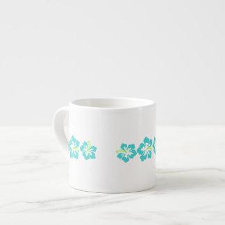 Flores hawaianas del hibisco taza espresso