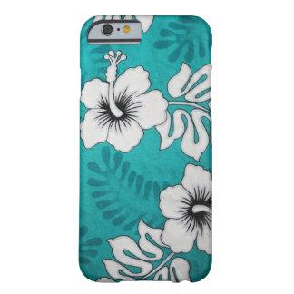 Flores hawaianas funda de iPhone 6 slim