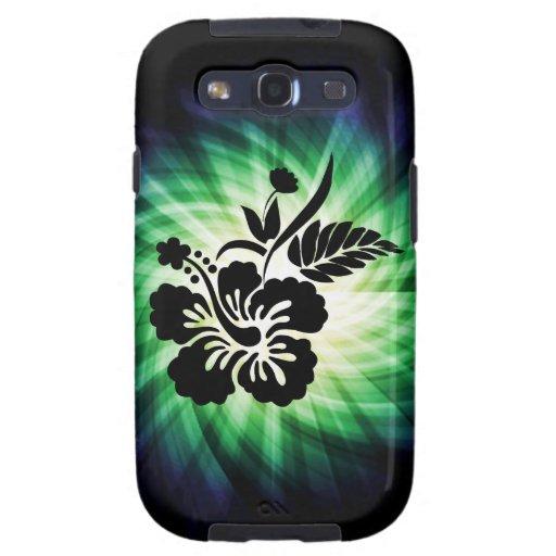 Flores hawaianas que brillan intensamente galaxy s3 cobertura