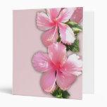 Flores hawaianas rosadas brillantes del hibisco