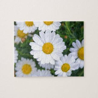 Flores hermosas de encargo de la primavera - puzzle