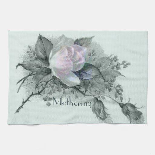 Flores hermosas para el día de madre toallas