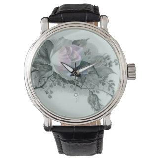 Flores hermosas relojes de mano