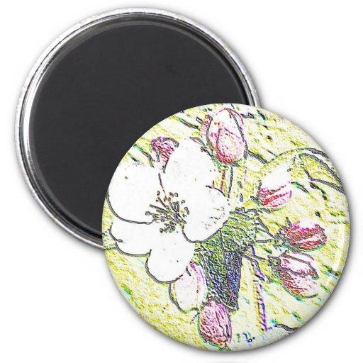 Flores Imán Redondo 5 Cm