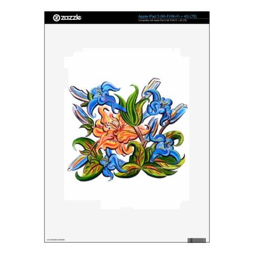 FLORES iPad 3 SKIN