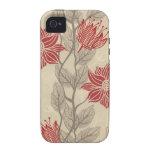 Flores iPhone 4 Carcasa