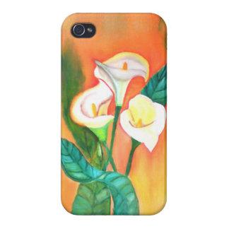 flores iPhone 4 carcasas