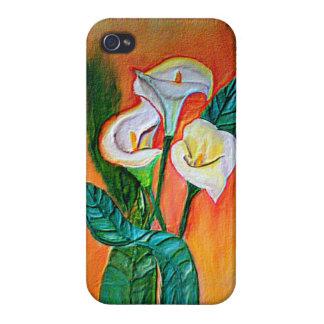 flores iPhone 4 funda