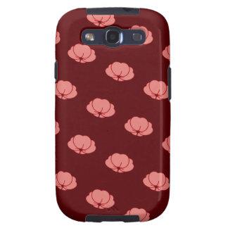 Flores japonesas rosadas del crisantemo samsung galaxy s3 funda
