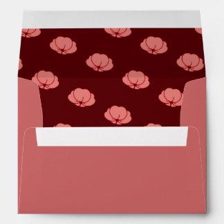 Flores japonesas rosadas del crisantemo sobres