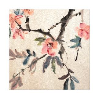 Flores Impresión De Lienzo