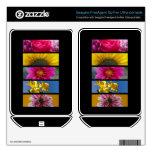 Flores macras rosadas y amarillas FreeAgent GoFlex calcomanía