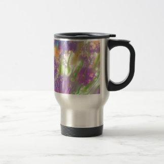 Flores mágicas tazas de café