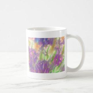 Flores mágicas taza