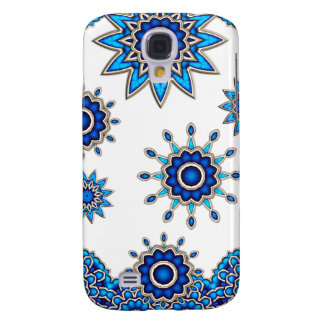 Flores Mandala móvil Funda Samsung S4