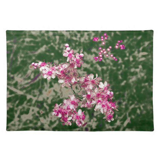 flores manteles individuales