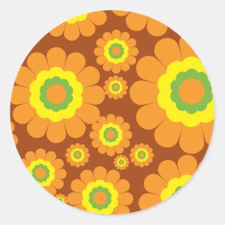 Flores maravillosas de los años 70
