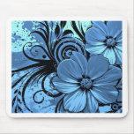 Flores más azules tapetes de raton