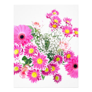 Flores Plantilla De Membrete