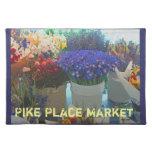 Flores - mercado de lugar de Pike Placemat Mantel Individual