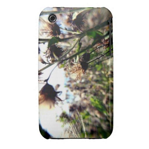 Flores móviles iPhone 3 Case-Mate carcasas