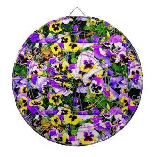 flores multicoloras del pensamiento