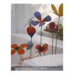 Flores-Mykonos, Grecia Flyer A Todo Color