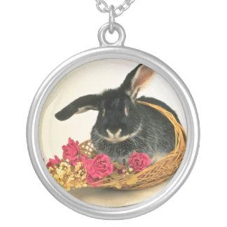 Flores nombradas conejo de Boris del zorro platead Collares
