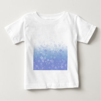 Flores pálidos azules t shirts