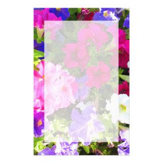 flores papeleria personalizada