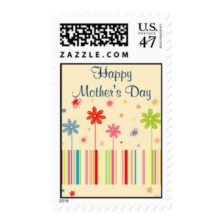 Flores para el día de madre timbres postales
