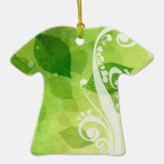 Flores para el diseño gráfico de los bodas ornamento para arbol de navidad